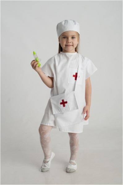 Костюмы доктора для детей своими руками